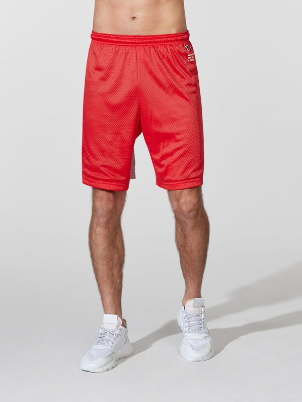 CHAMPION RED SHORT