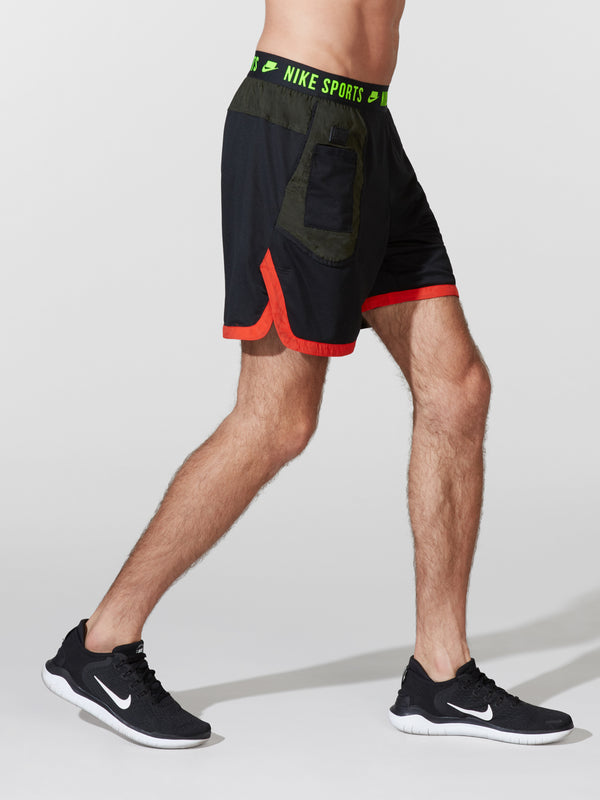 NIKE X BARRY'S BLACK DRI-FIT SHORT