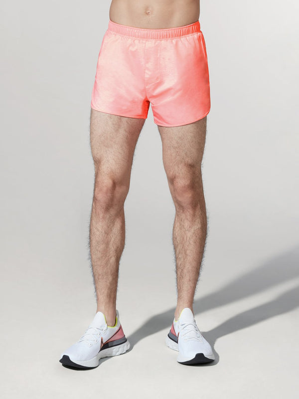 RHONE X BARRY'S HOT CORAL SWIFT 4 IN LINED SHORT