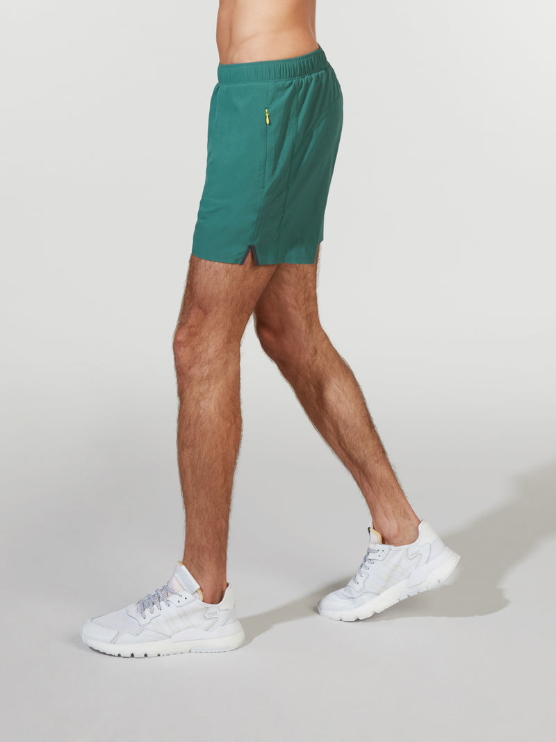 RHONE MALLARD GREEN SWIFT LINED SHORT