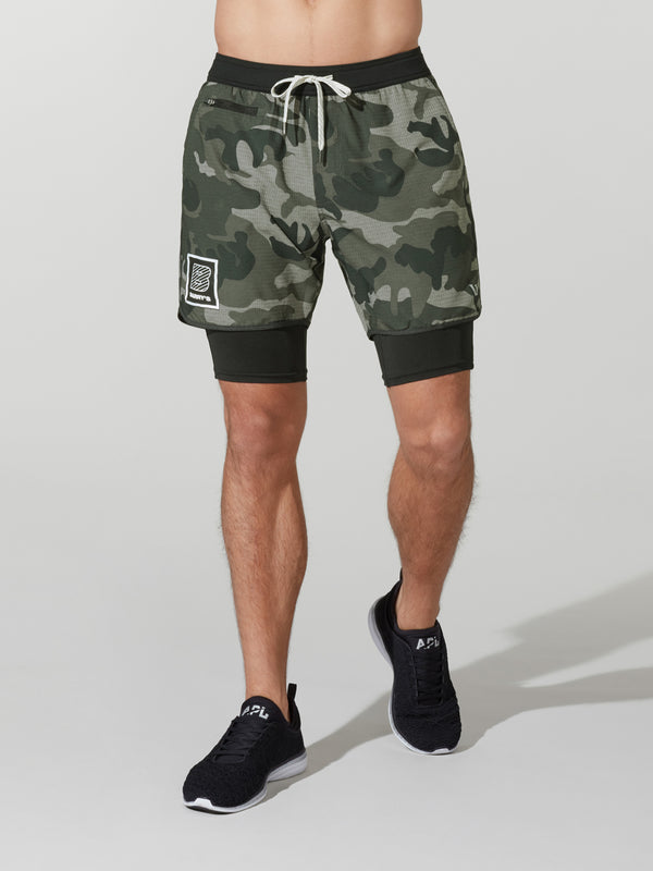 VUORI CAMO STOCKTON SHORT