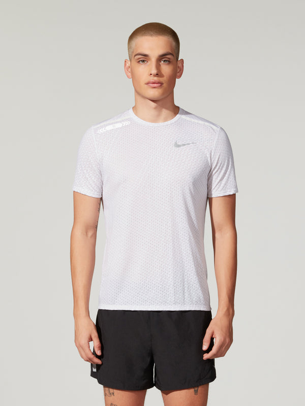 NIKE BREATHE TEE VAST GREY