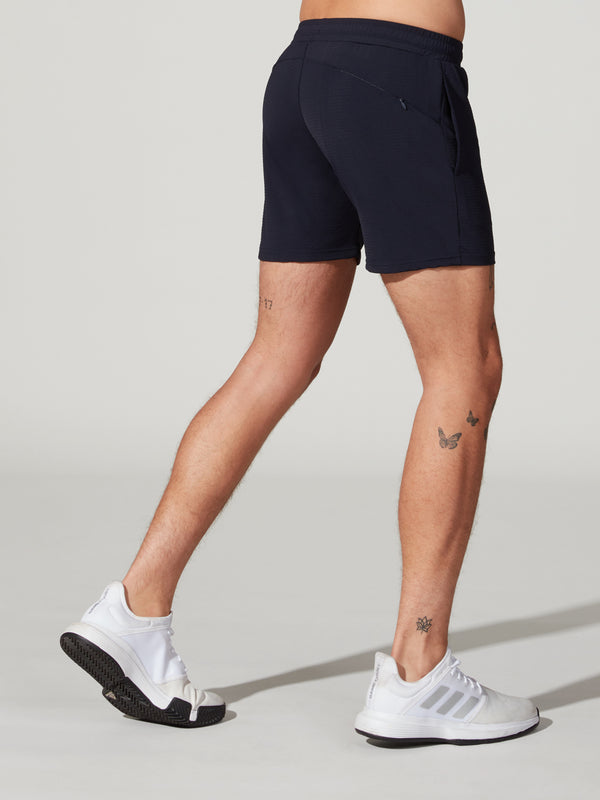 STEELE NAVY PERFORMANCE MESH SHORT