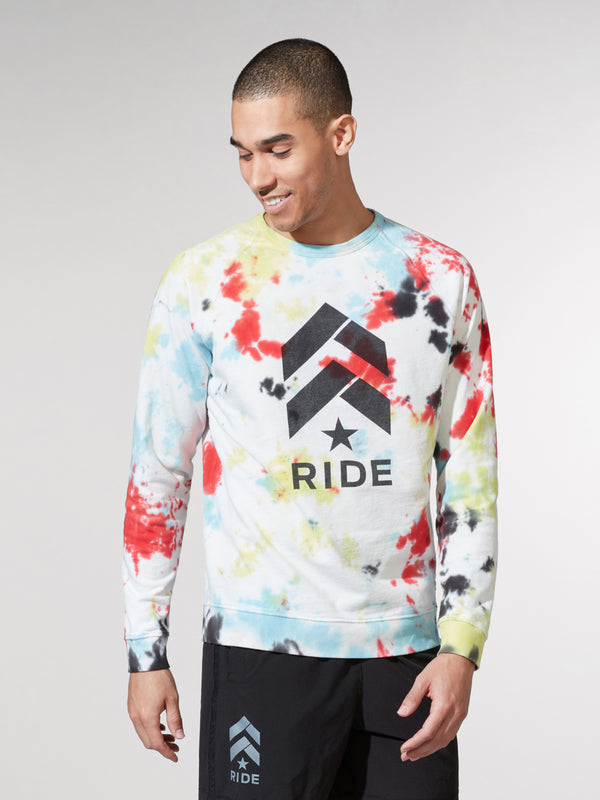 BARRY'S RIDE TIE DYE PULLOVER