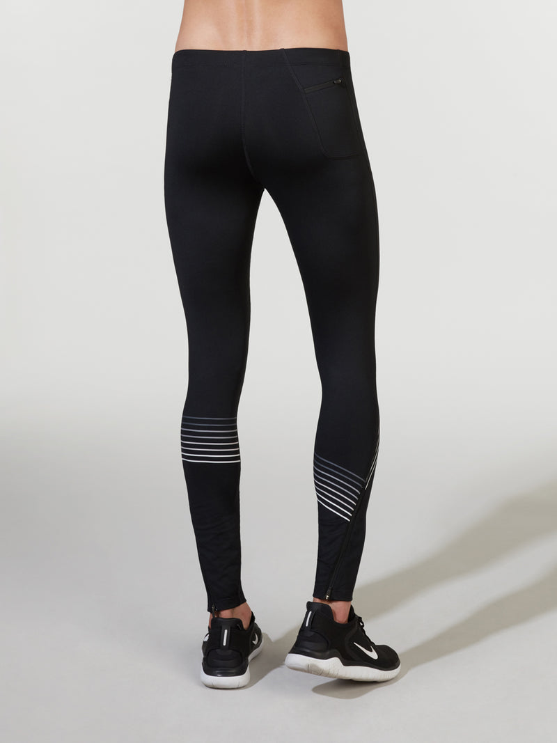 BARRY'S X NIKE BLACK GRIDIRON TIGHT