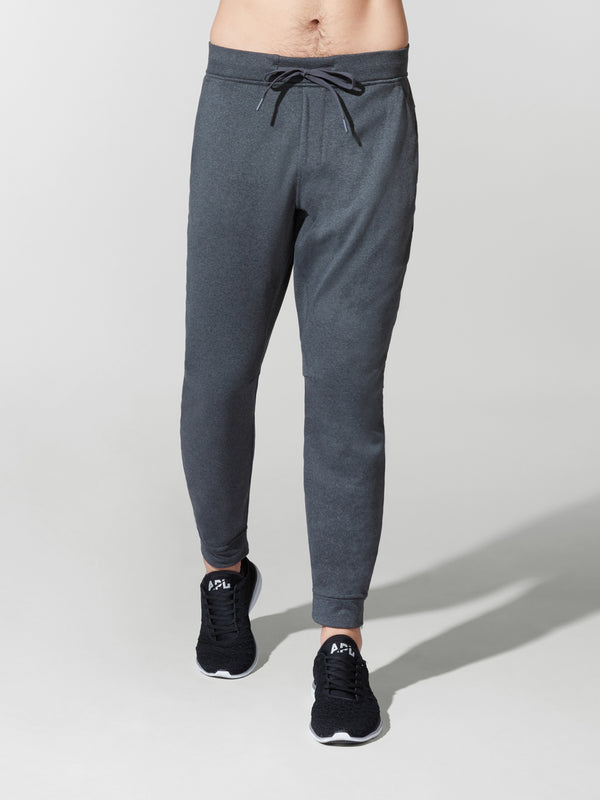 LULULEMON // BARRY'S HEATHER COAL CITY SWEAT JOGGER THERMO