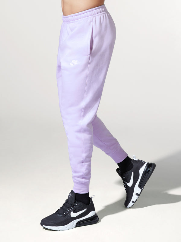 NIKE X BARRY'S LAVENDER FLEECE SWEATPANT