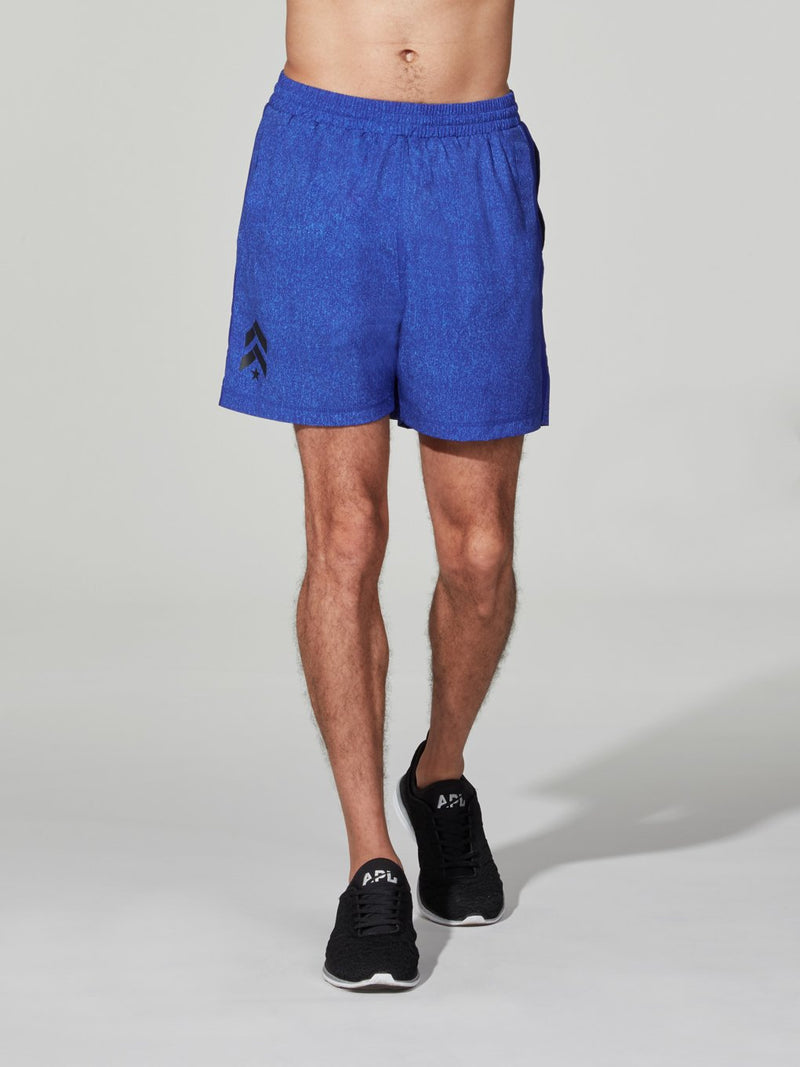 BARRY'S FIT HEATHER ROYAL JOEY SHORT 4 IN