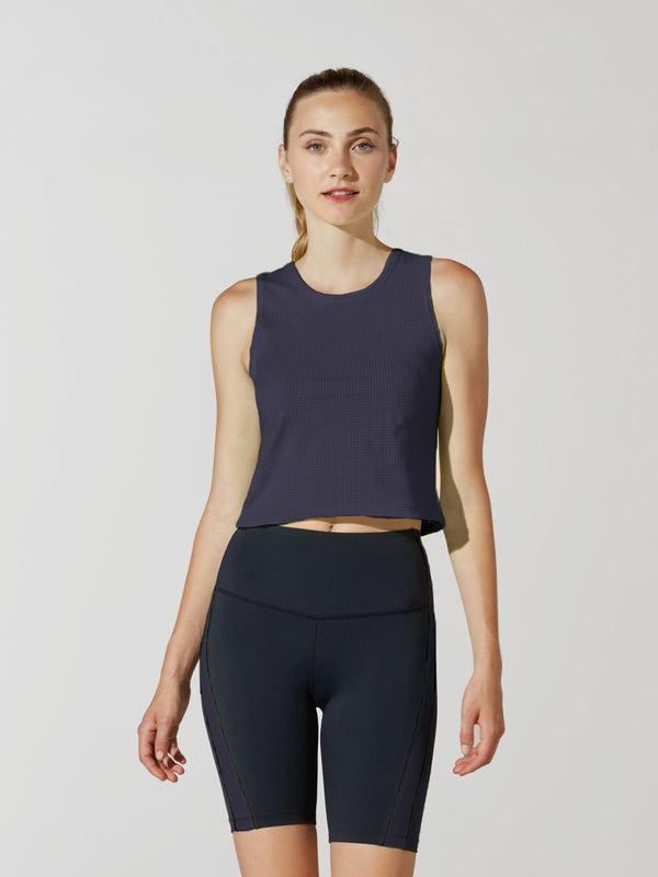 BARRY'S FIT NIGHT DRIVER CROP TANK