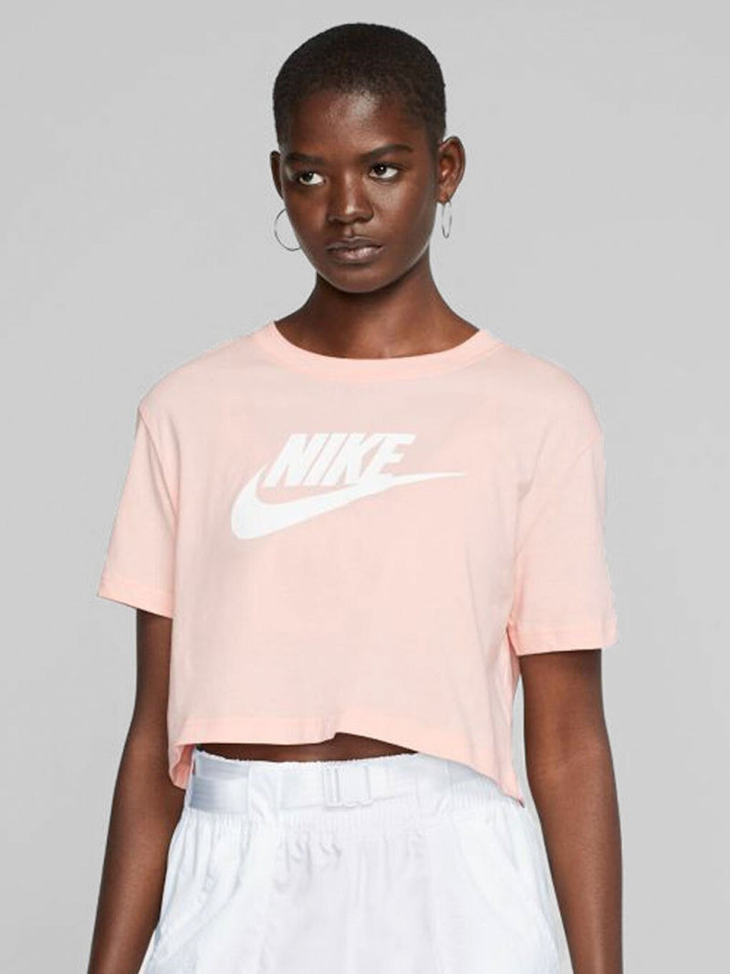 NIKE X BARRY'S WASHED CORAL ESSENTIAL TEE