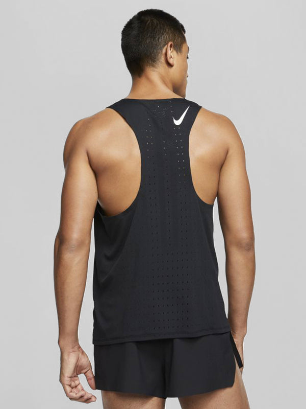 NIKE BLACK AEROSWIFT TANK