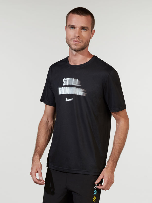 NIKE X BARRY'S BLACK DRY RUNNING TEE