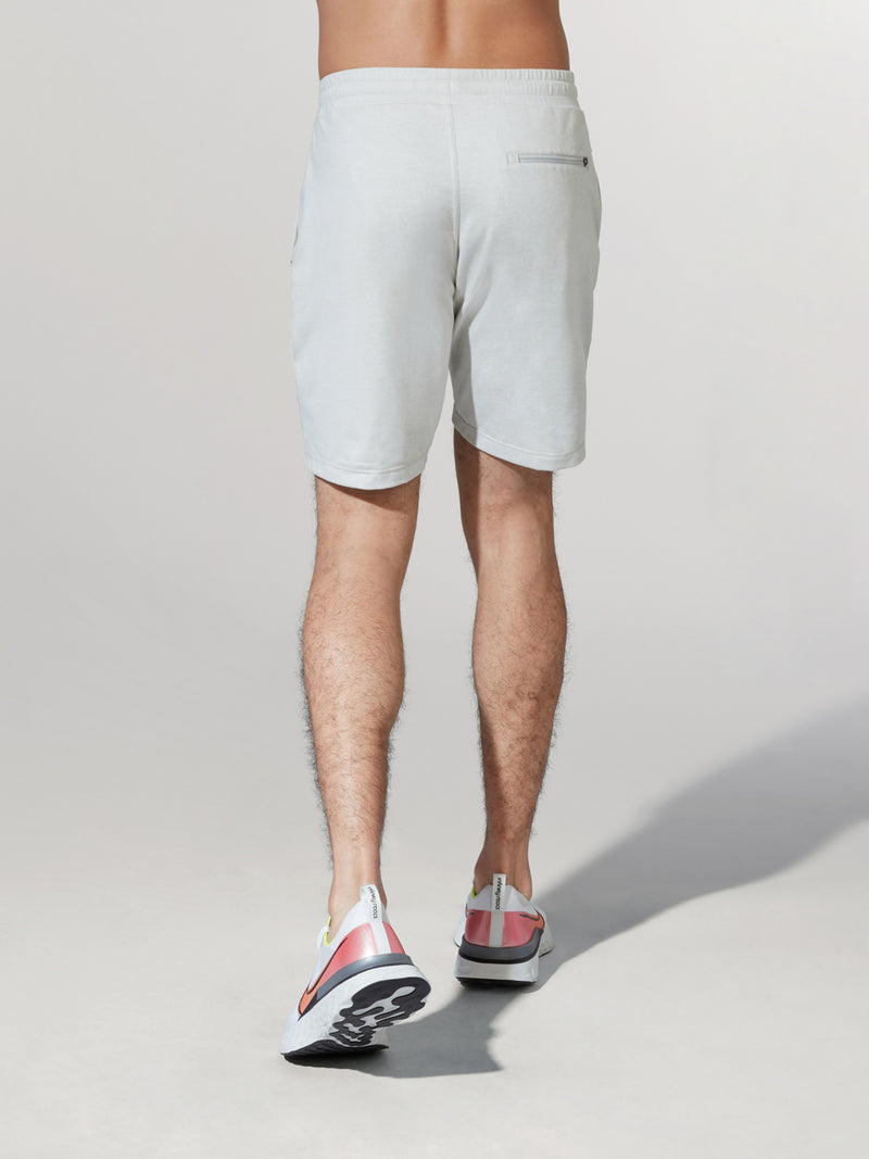 VUORI DOVE GREY PONTO SHORT