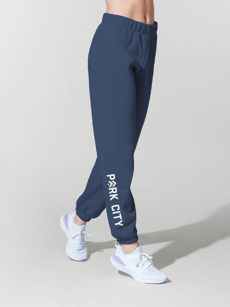 LAZYPANTS PARK CITY NAVY NIKI SWEAT