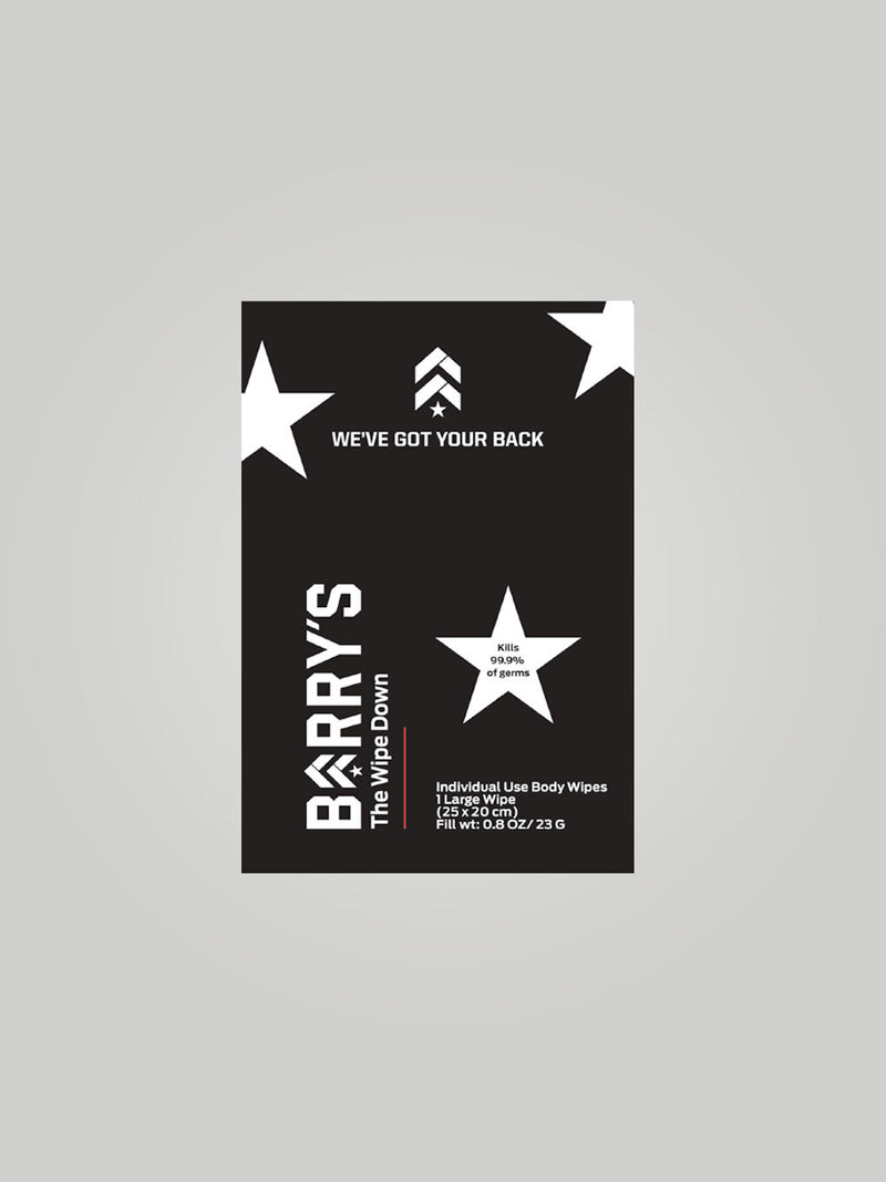 BARRY'S BODY WIPES 25 PACK