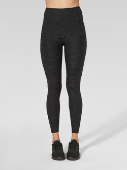 TWENTY BLACK LEOPARD 3D ACTIVE LEGGING