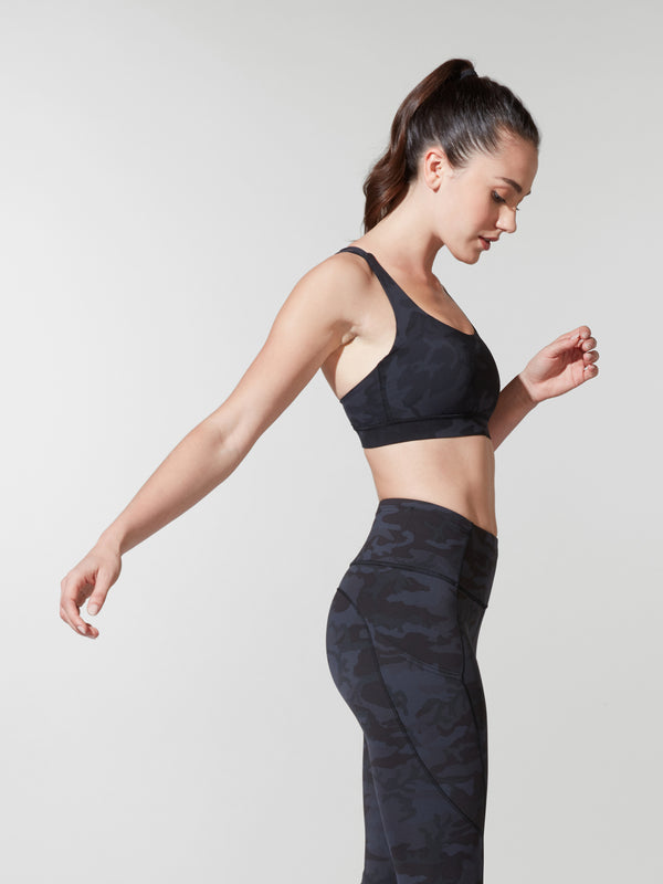 LULULEMON // BARRY'S INCOGNITO CAMO ENERGY BRA