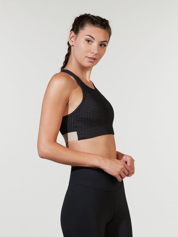 NIKE X BARRY'S BLACK CLASSIC CROSS BACK BRA