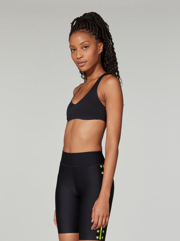 LULULEMON BLACK LIGHT STRIDES BRA