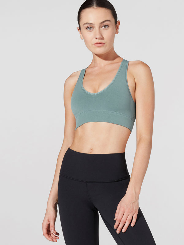 LULULEMON // BARRY'S DIGITAL RAIN REVEAL BRA