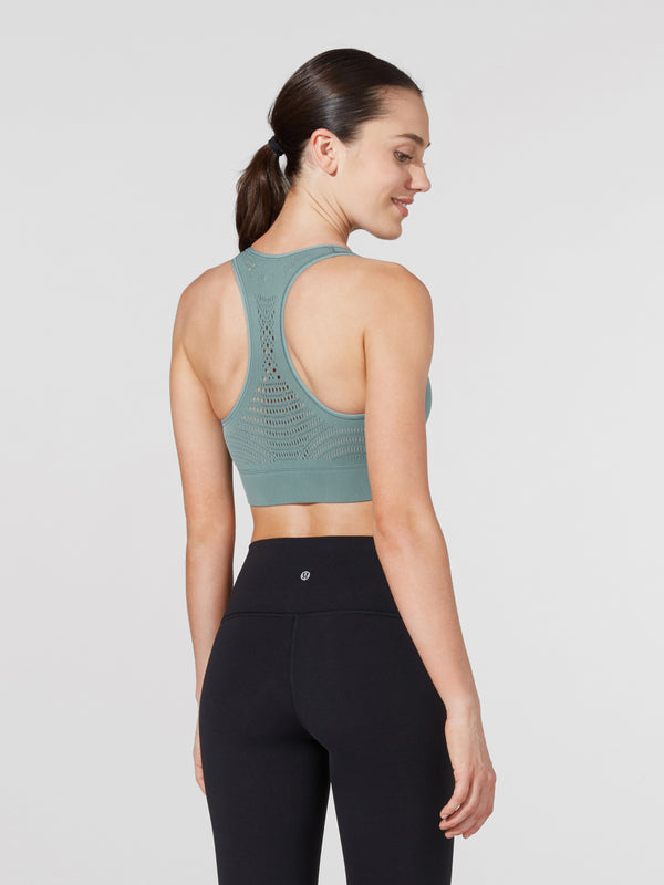 LULULEMON TIDEWATER DIGITAL RAIN REVEAL BRA