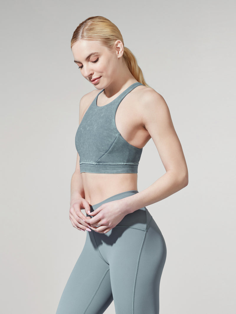 LULULEMON // BARRY'S RIDE NIGHT DIVER BOB AND WEAVE BRA