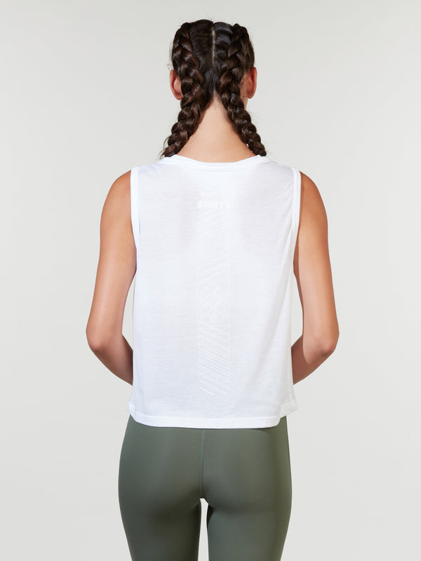 NIKE X BARRY'S WHITE DRY TANK