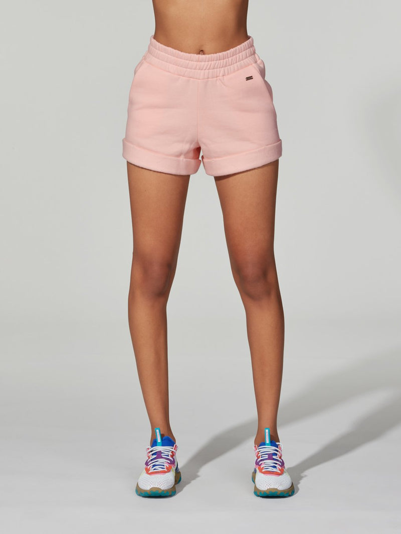 LUNE X BARRY'S LIGHT PINK ICE CASHMERE SHORT