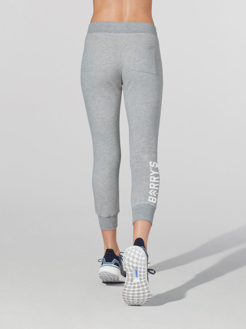 BARRY'S HEATHER GREY DECONSTRUCTED SWEATPANT