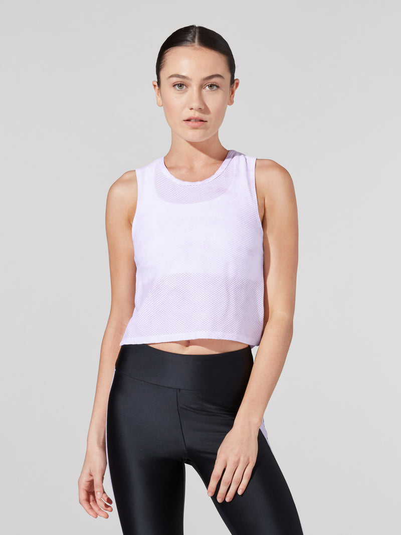BARRY'S HONEYCOMB FIT CROP