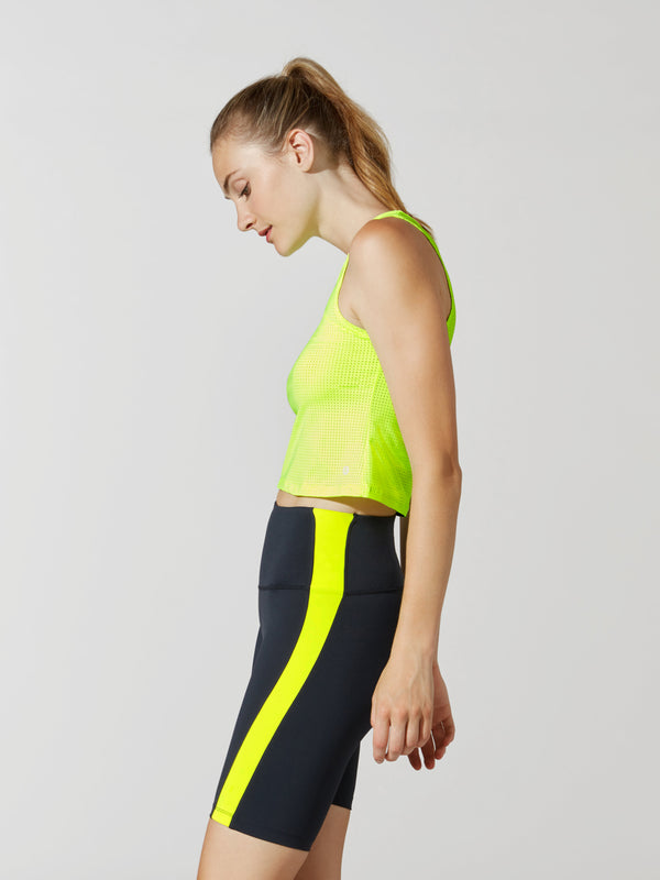 BARRY'S FIT NEON BRIGHTS CROP TANK