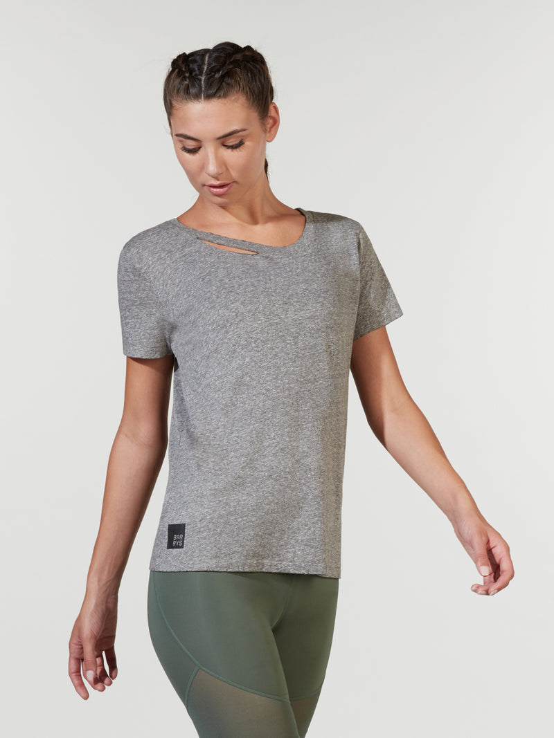 PHILANTHROPY HEATHER GREY HARLOW TEE