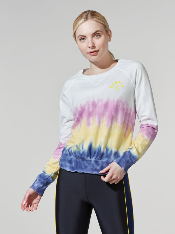 BARRY'S SUNSET TIE DYE VENICE SWEATSHIRT