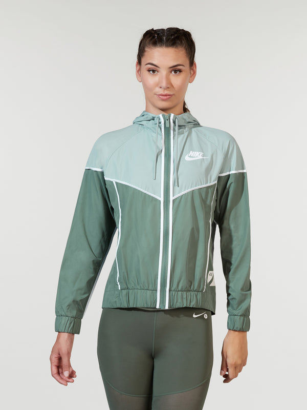 NIKE X BARRY'S CLAY GREEN SPORTWEAR JACKET