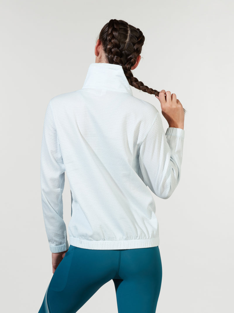 LULULEMON // BARRY'S ALMOST BLUE PACK LIGHT PULLOVER