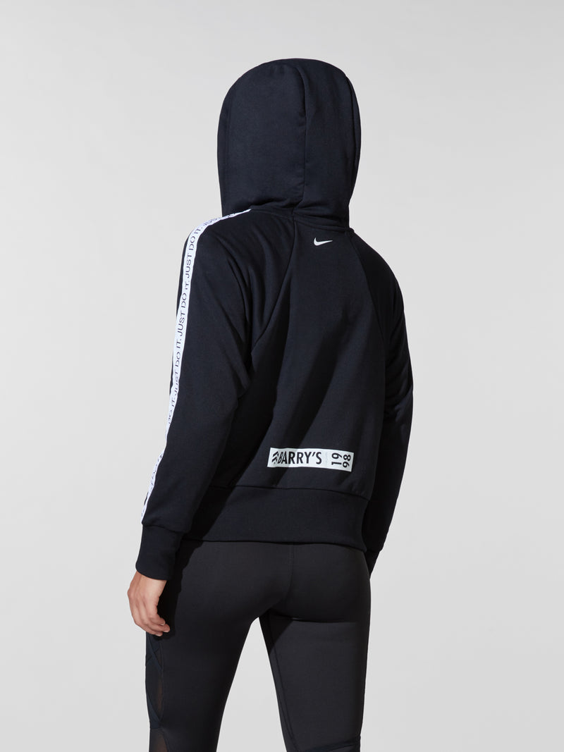NIKE X BARRY'S BLACK DRI-FIT HOODIE