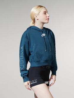 NIKE X BARRY'S VALERIAN BLUE AIR HOODIE