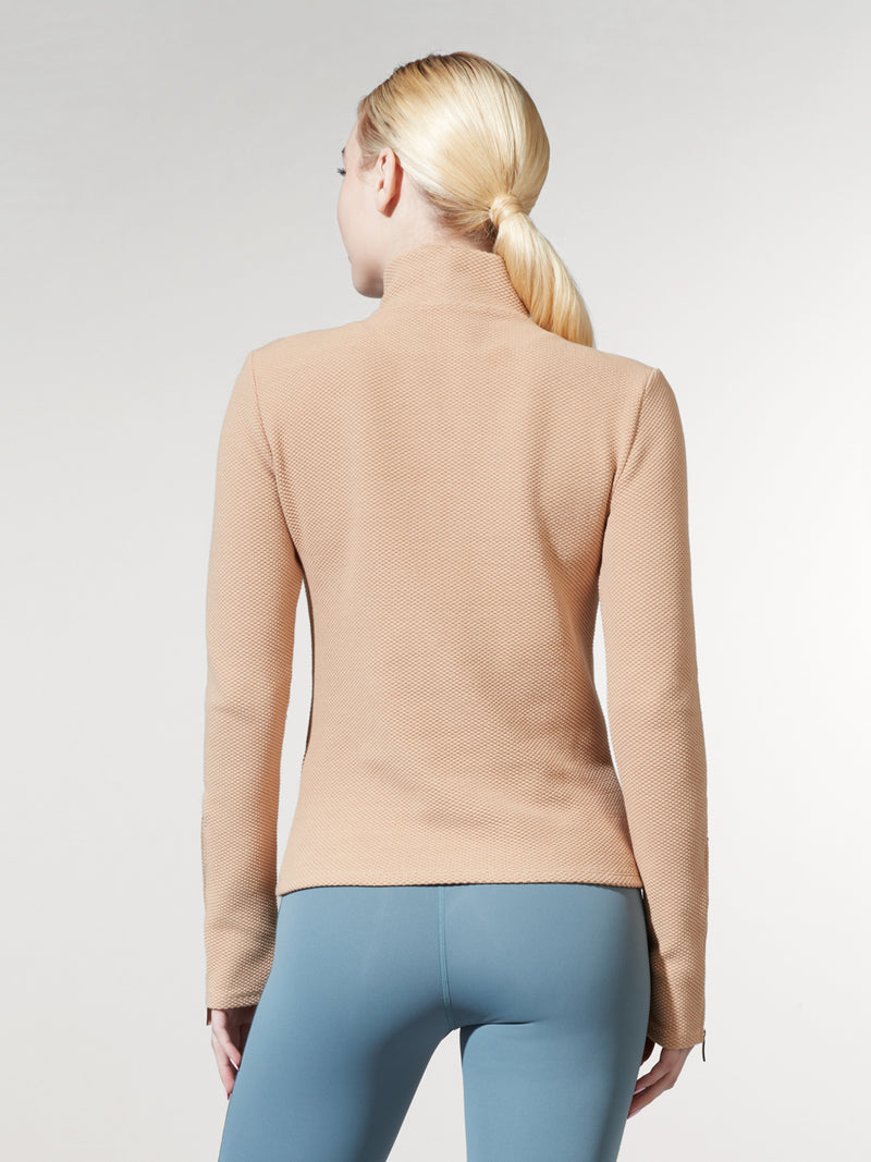 LUNE X BARRY'S DESERT SAND LONG SLEEVE TOP