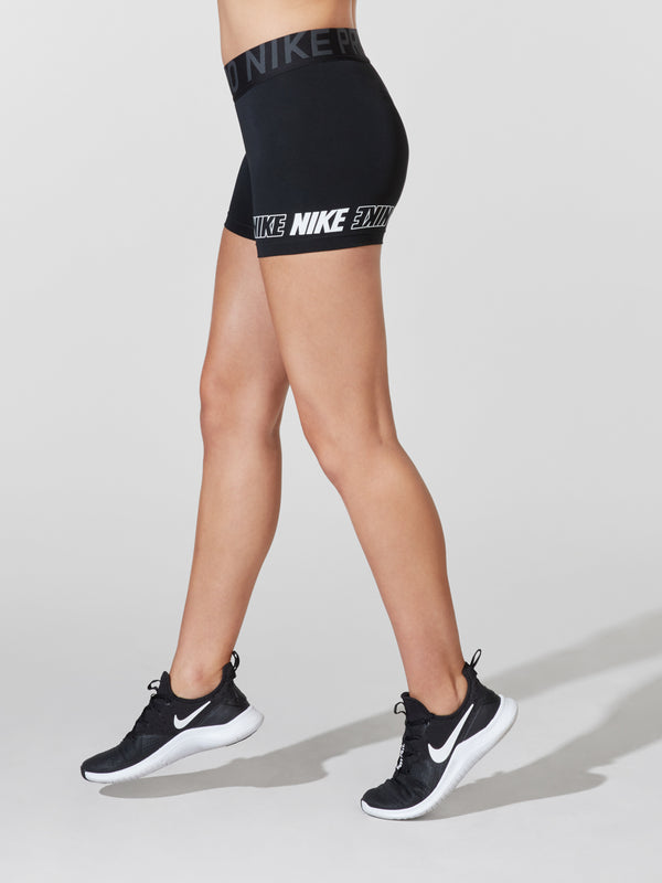 NIKE X BARRY'S BLACK PRO SHORT