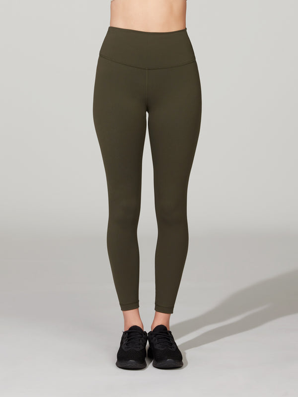LULULEMON DARK OLIVE WUNDER UNDER TRAIN HR 25IN TIGHT