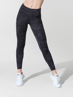 LULULEMON // BARRY'S INCOGNITO CAMO FAST AND FREE HR 7/8 TIGHT
