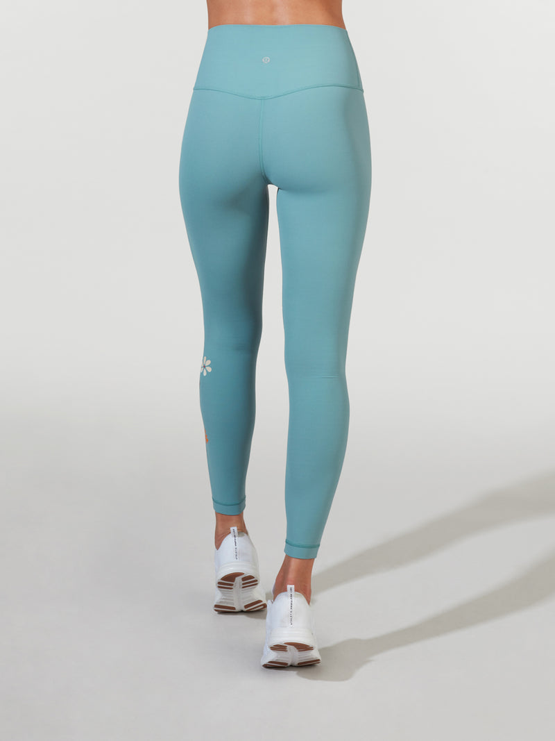 LULULEMON // BARRY'S AQUATIC GREEN ALIGN PANT 25IN