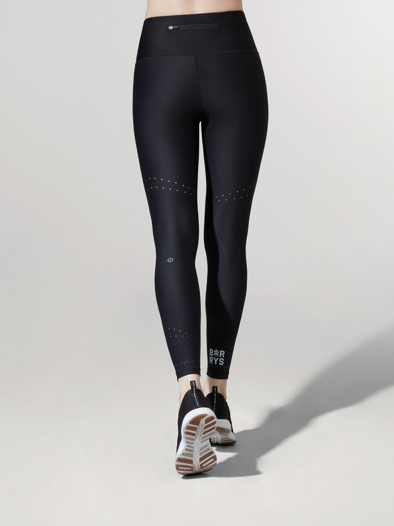 LULULEMON BLACK ZONED IN TIGHT