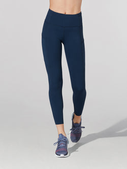 LULULEMON TRUE NAVY FAST AND FREE HR 78 TIGHT