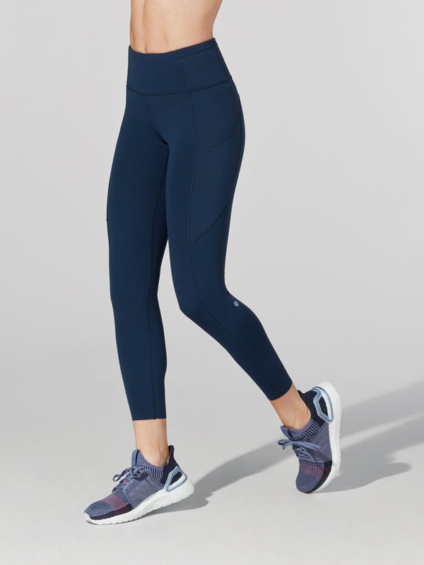 LULULEMON // BARRY'S NAVY FAST AND FREE HR 78 TIGHT