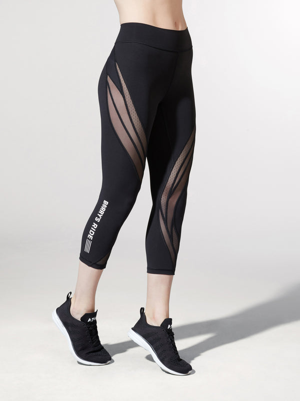 LULULEMON RIDE NEVER STILL CROP LEGGING