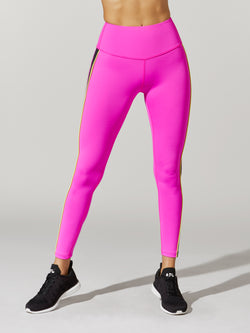 FIT HOT PINK COLORBLOCK SPEED TIGHT