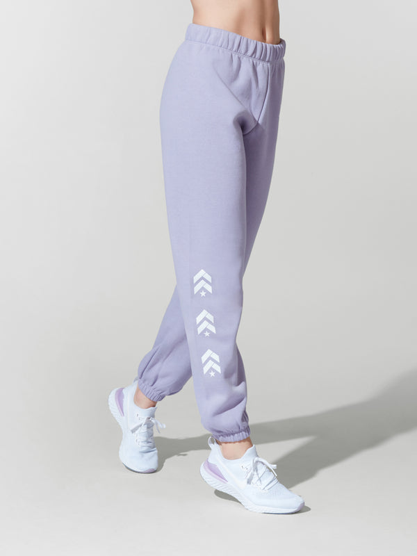 BARRY'S X LAZYPANTS LAVENDER  NIKI SWEAT