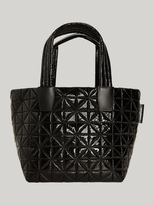 VEE X BARRY'S BLACK VINYL TOTE