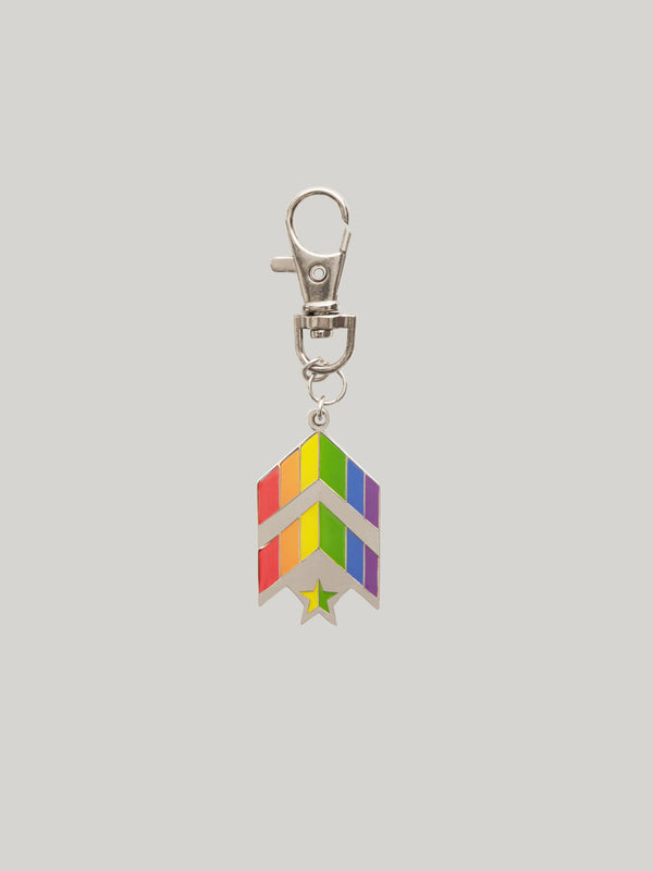 BARRY'S PRIDE KEYCHAIN